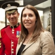 Darren and Lorna Hardy ( nee Cheetham) at The Guards Museum
