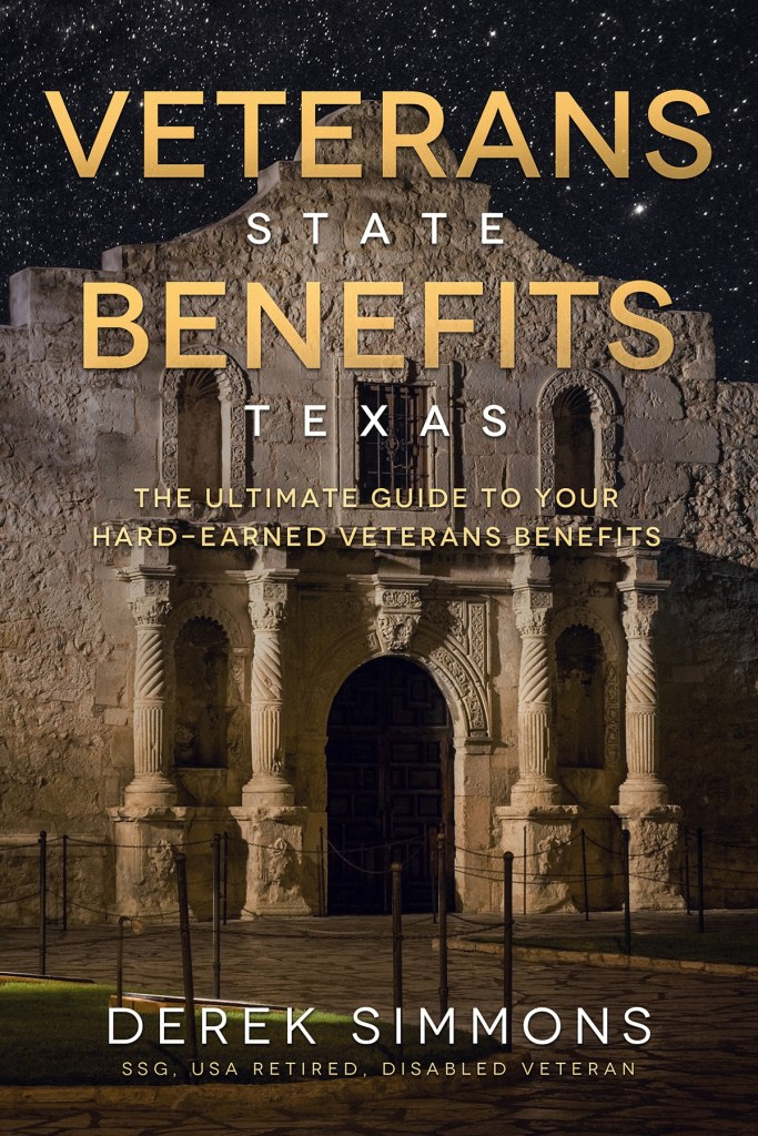 Veterans State Benefits Texas book cover front