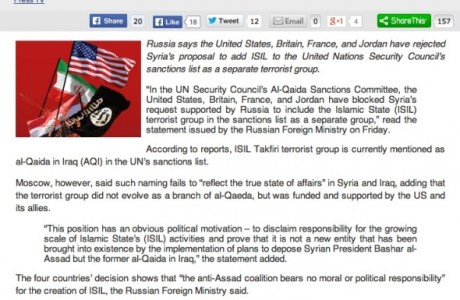 US, Britain, France, Jordan refuse to name ISIS as _terror group_