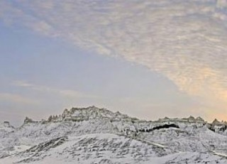 Badlands Winter - South Dakota