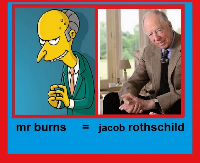 mr burns = jacob rothschild