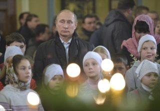 Putin-misa de medianoche