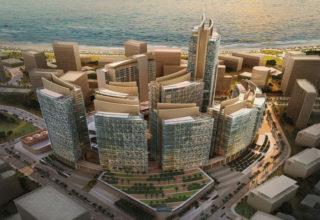 Qatar financial district