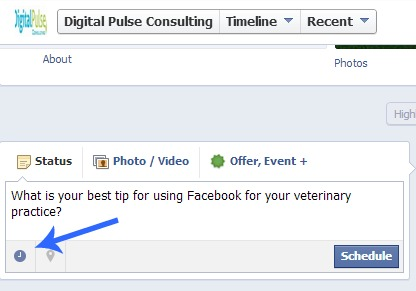 How to Schedule your Facebook Posts