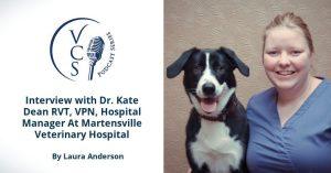 Dr. Kate Dean RVT, VPN, Hospital Manager At Martensville Veterinary Hospital
