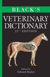 Black's Veterinary Dictionary 21st Edition PDF Download Page 001