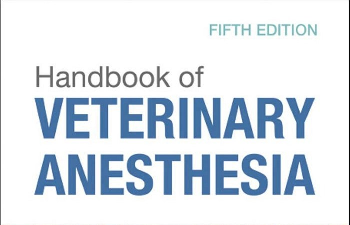 Handbook Of Veterinary Anesthesia 5th Edition Page 001