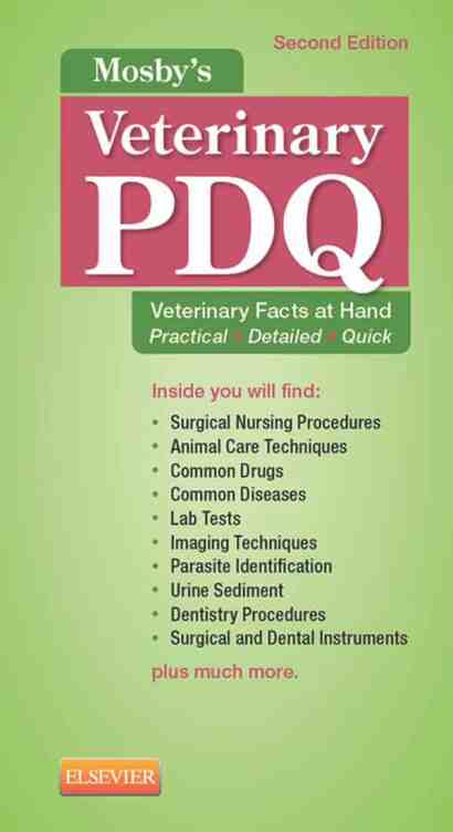 Mosby's Veterinary PDQ 2nd Edition PDF