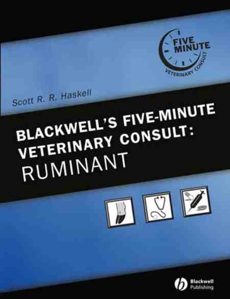 5 Minute Veterinary Consult Ruminant PDF