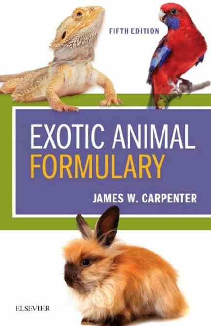 Exotic Animal Formulary 5th Edition PDF