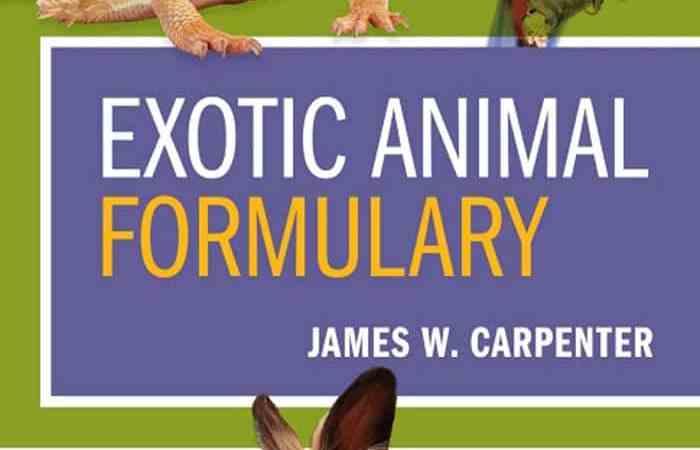 Exotic Animal Formulary 5th Edition PDF