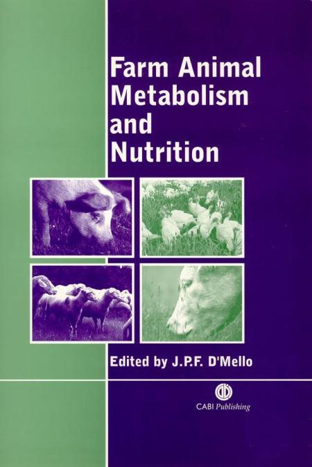 Farm Animal Metabolism And Nutrition PDF
