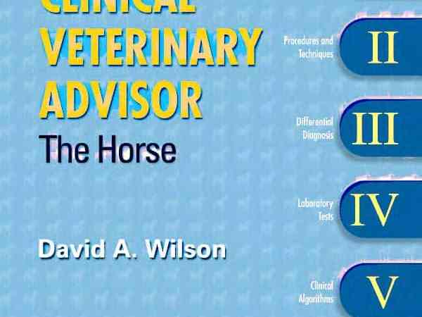 Clinical Veterinary Advisor The Horse PDF Download