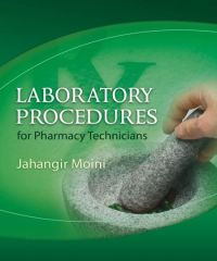 Laboratory Procedures For Pharmacy Technicians