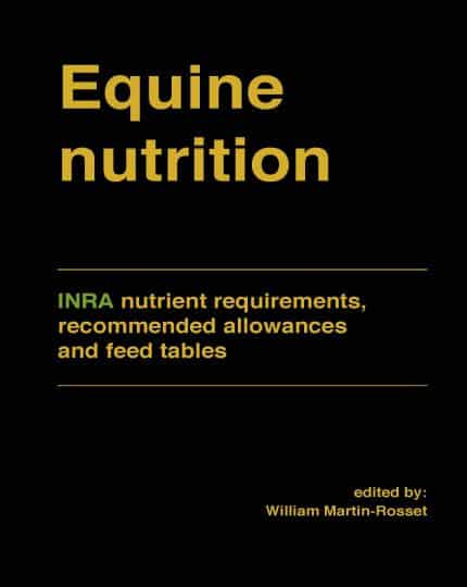 Equine Nutrition INRA Nutrient Requirements Recommended Allowances And Feed Tables Page 001