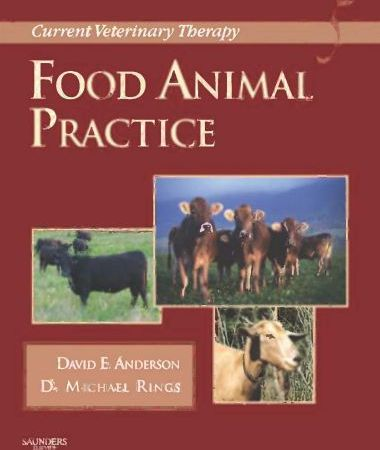 Current Veterinary Therapy Food Animal Practice
