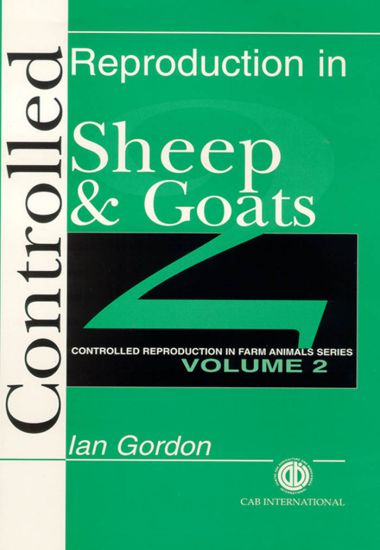 Controlled Reproduction In Sheep And Goats
