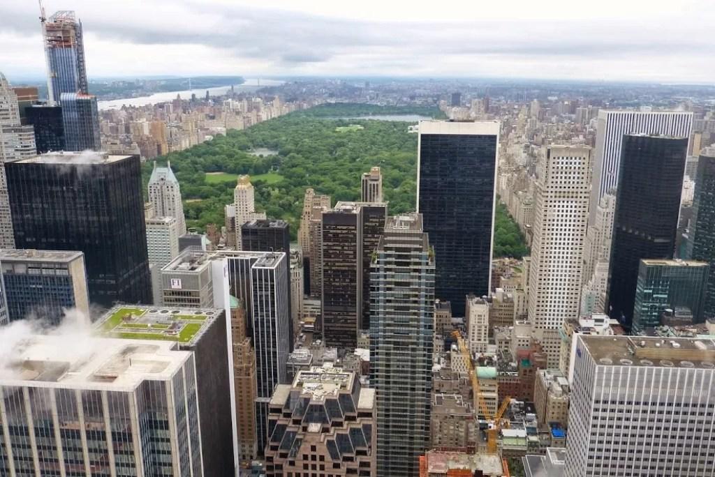 Dit zijn de drie bekendste uitkijkpunten in New York City