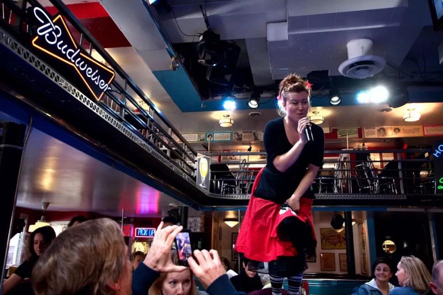 Ellen's Stardust Diner New York City