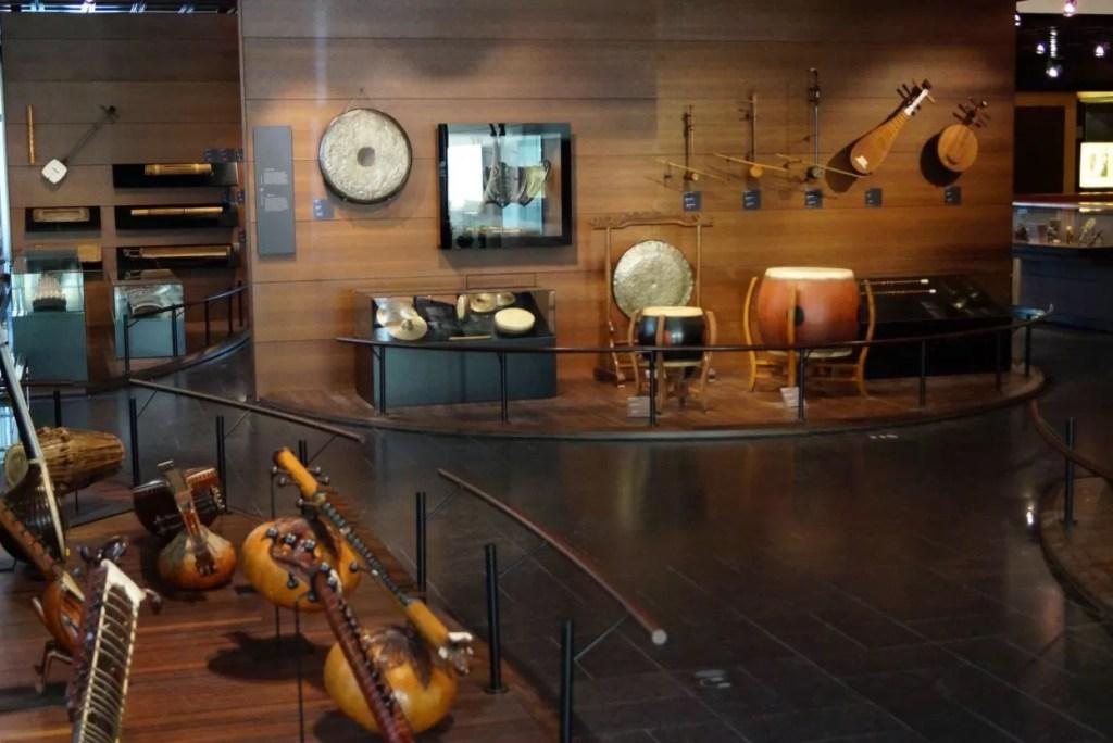 Het muziekinstrumentenmuseum in Brussel is een echt pareltje