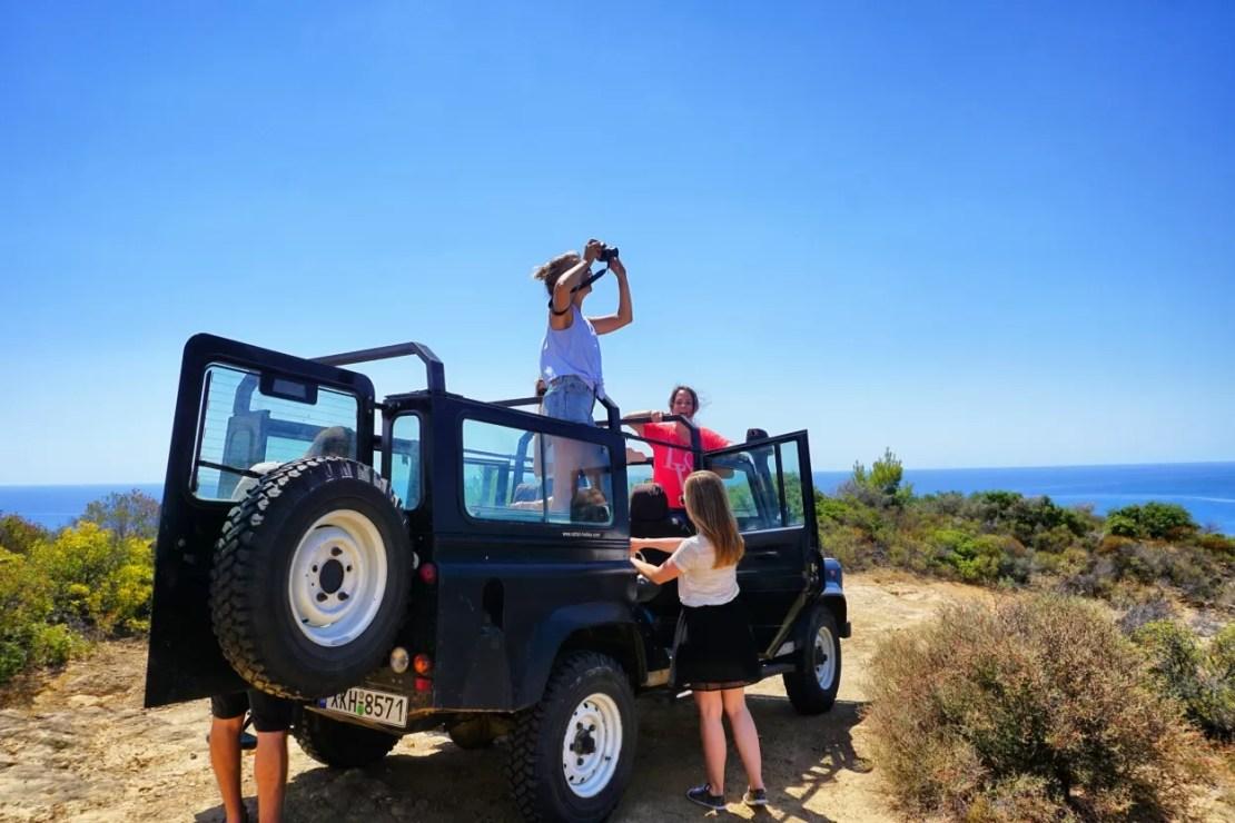 Chalkidiki, Griekenland Jeep Safari