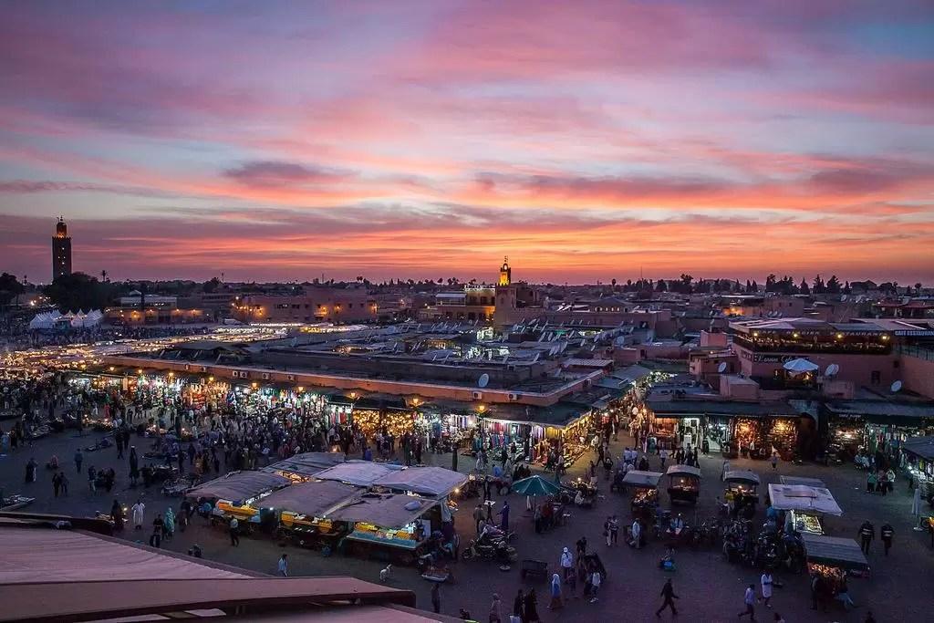 Next: kennismaking met Rode Stad Marrakech