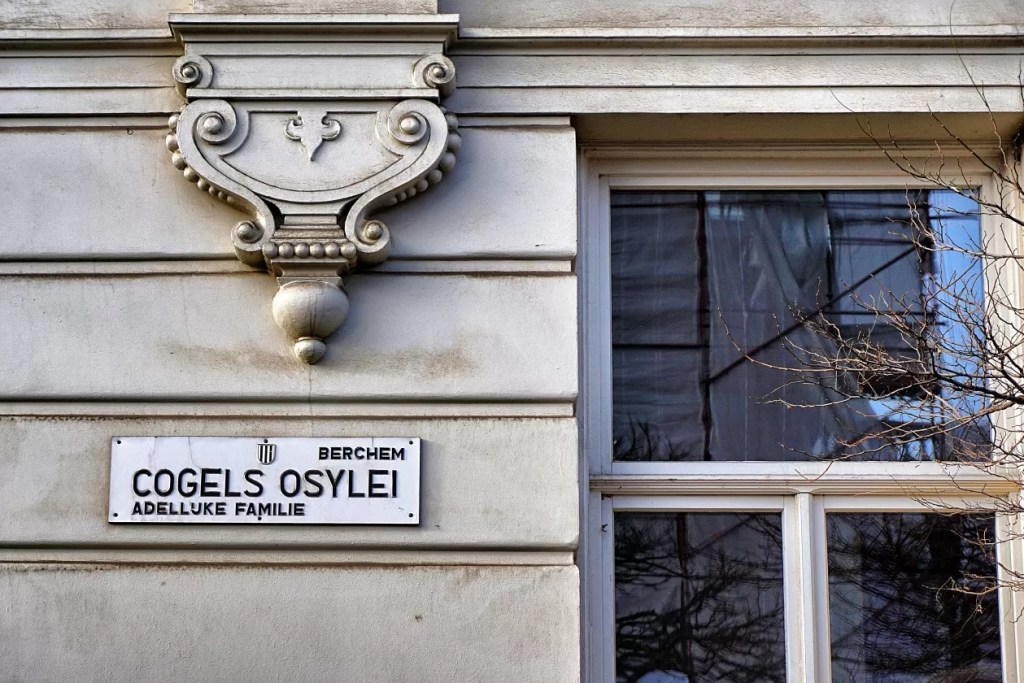 Cogels Osylei naam