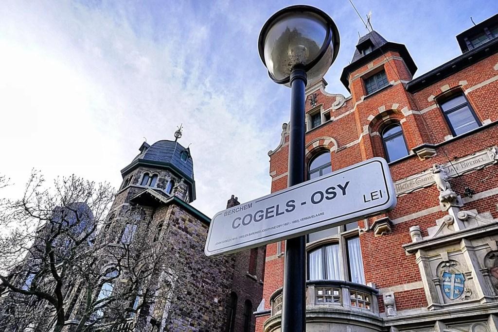 Cogels Osylei is de mooiste straat van Antwerpen