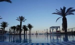 Strand zee oceaan Sousse Tunesië tui sensimar sheherazade