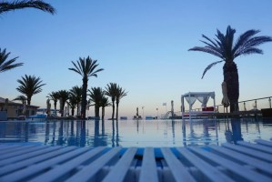 strand palmbomen Tunesië TUI Sensimar Scheherazade