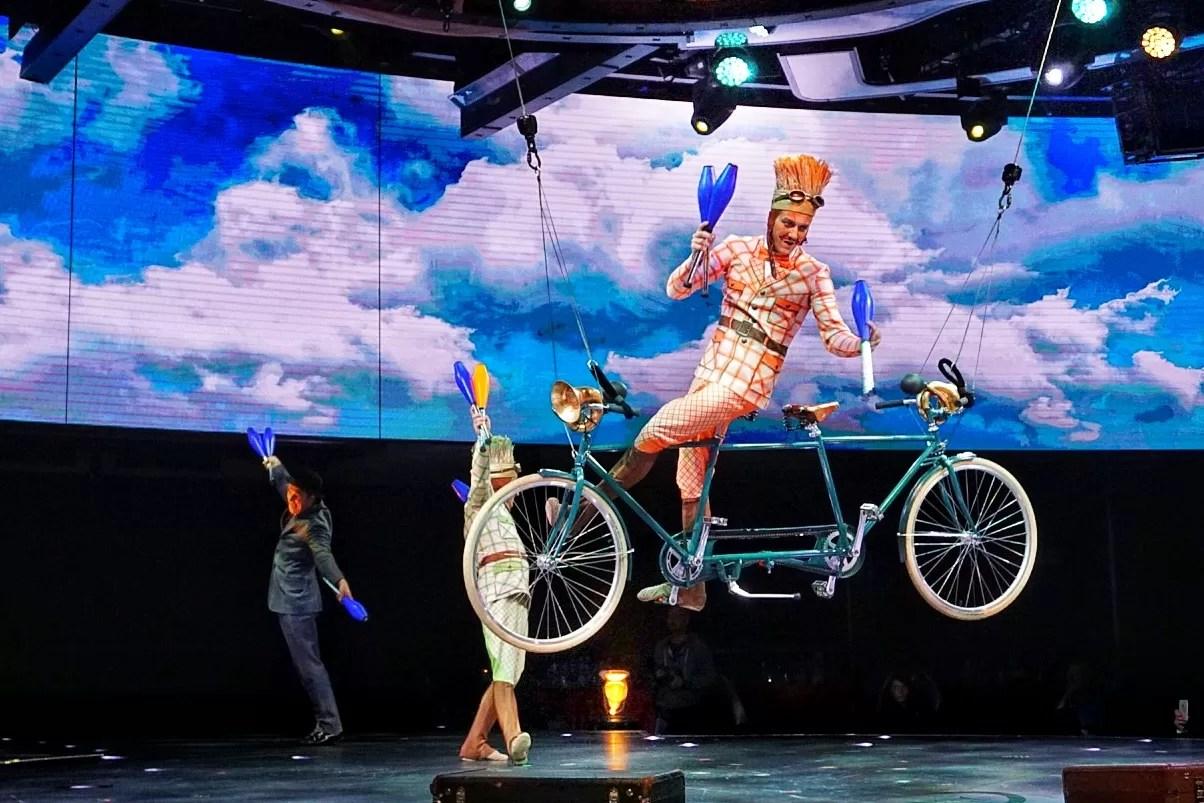 Cirque du Soleil MSC Meraviglia