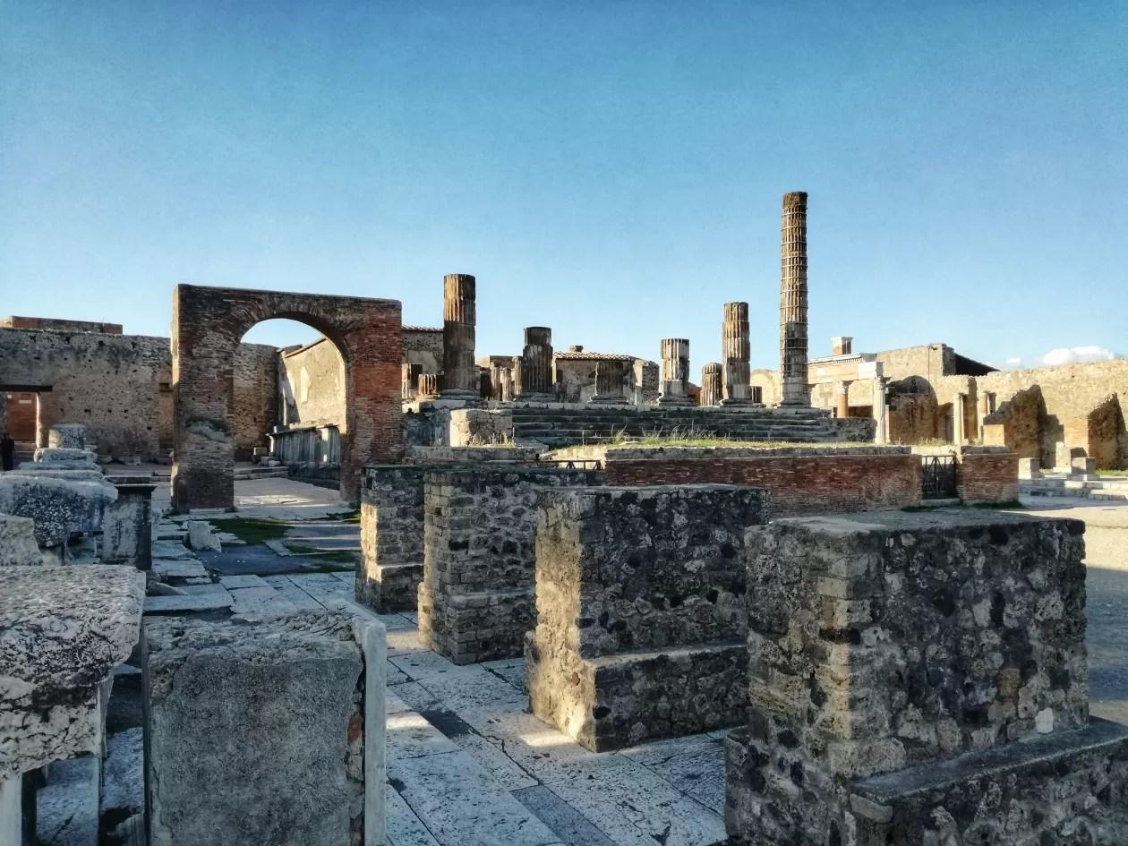 Pompeii MSC Meraviglia
