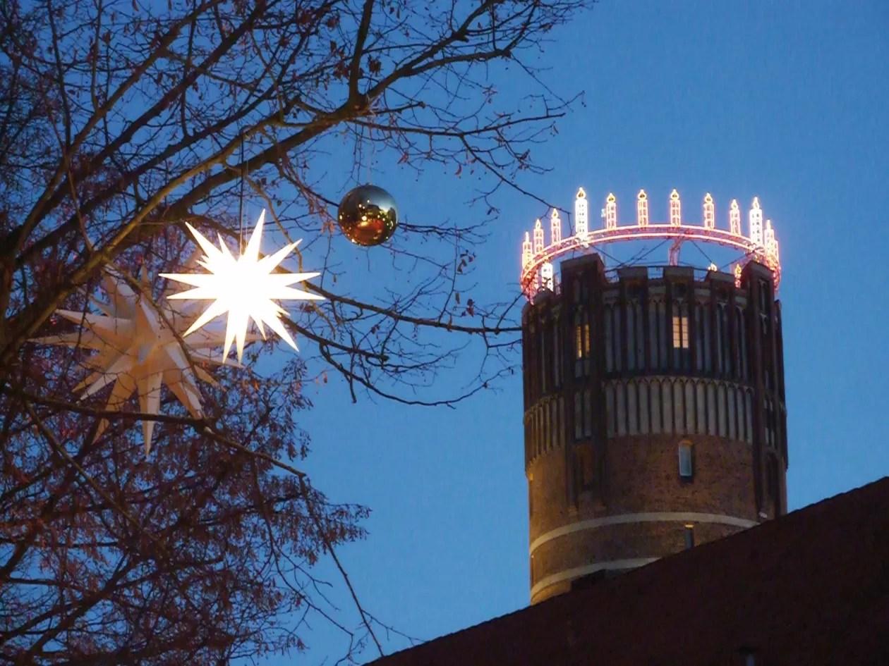 Luneburg kerstmarkten in Nedersaksen