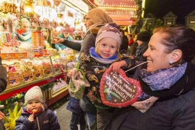 Wolfenbuttel kerstmarkten in Nedersaksen
