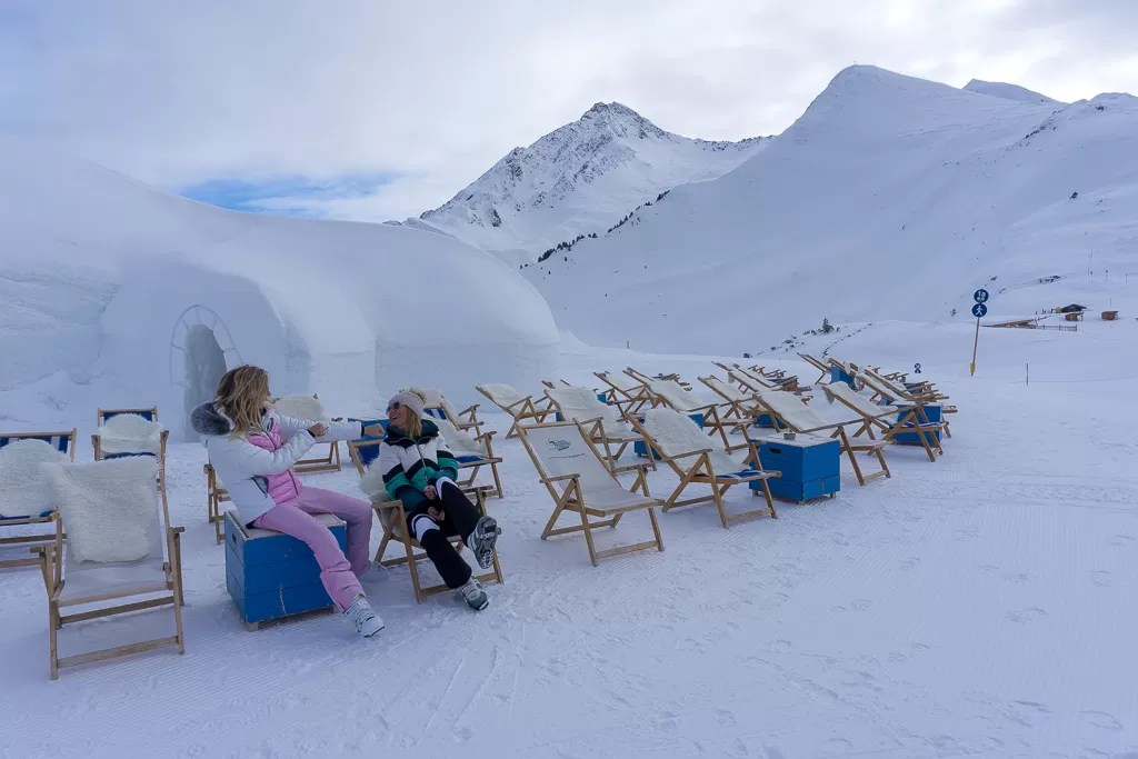 Zillertal white lounge