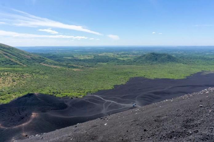 Cerro Negro in Nicaragua