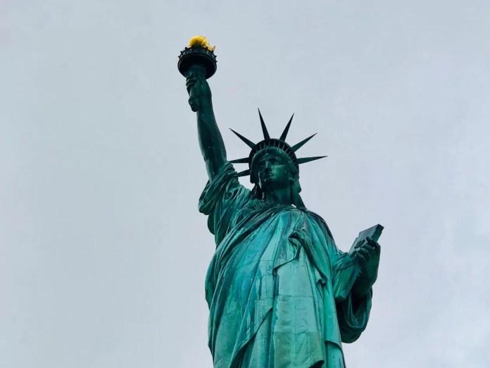 gratis in new york vrijheidsbeeld
