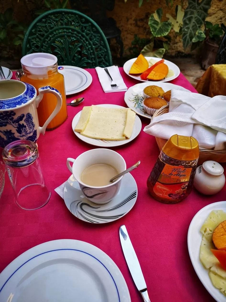 Ontbijt Cuba