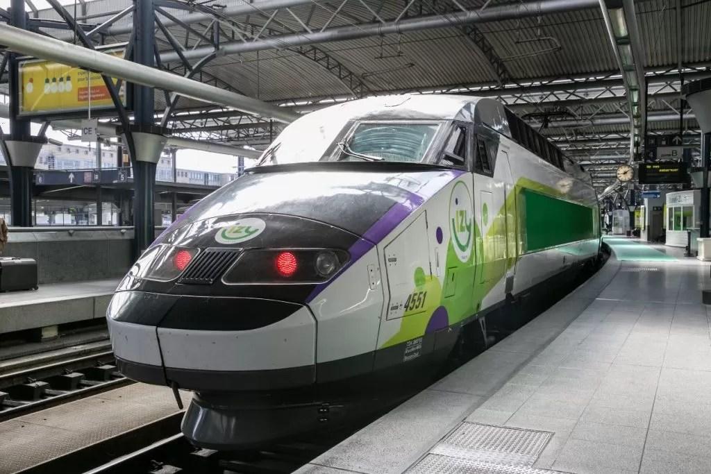 izy trein naar parijs