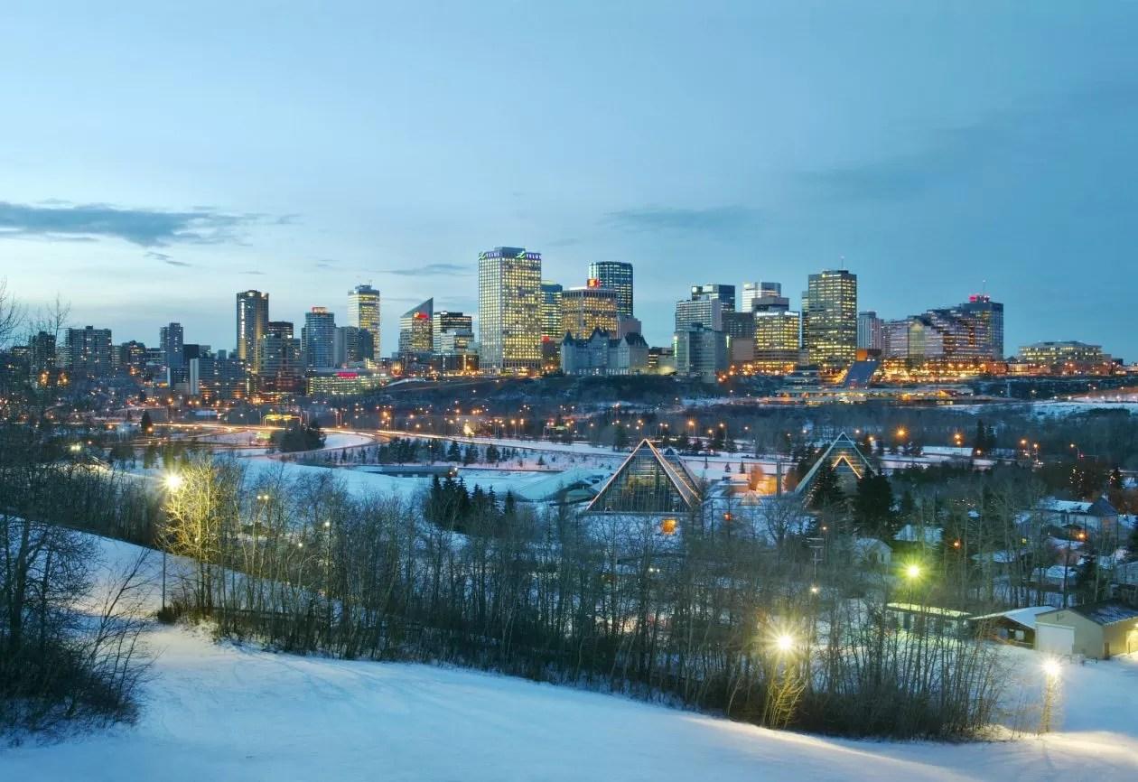 Skyline-Edmonton-Winter