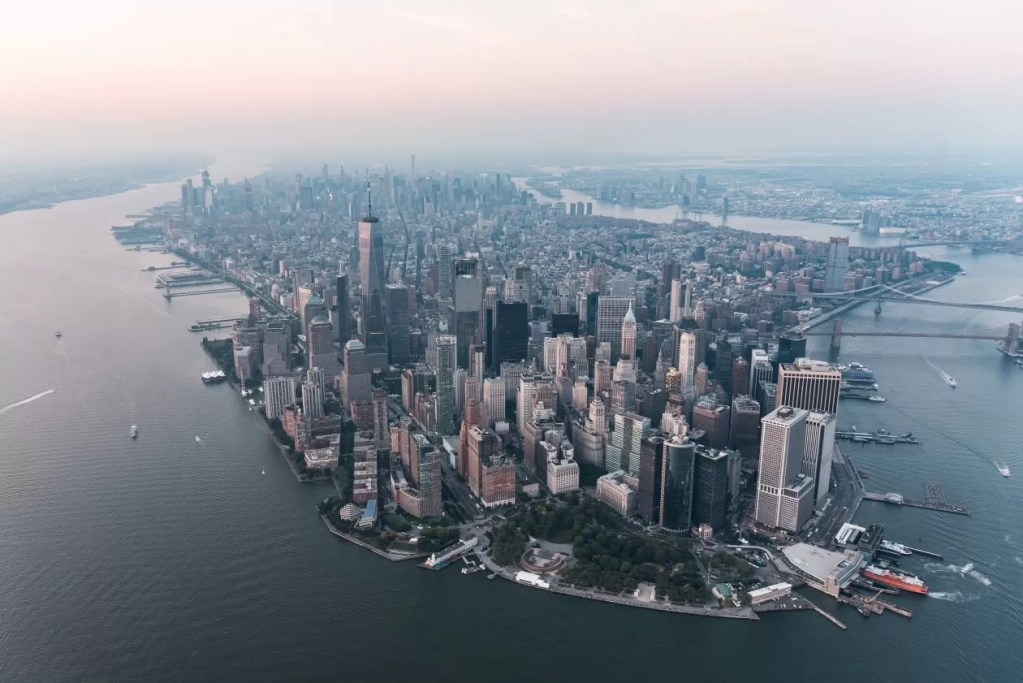 new york citytrip helikopter