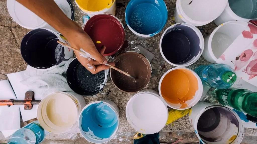 verven en schilderen