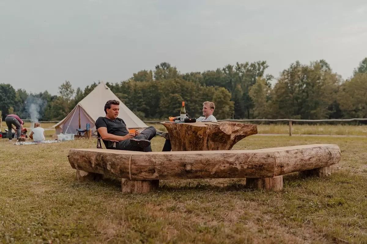 De Vlaamse natuur in! Kamperen in een tipi