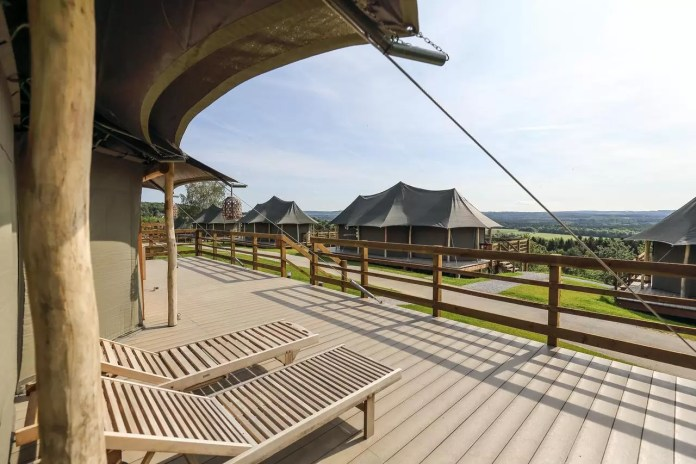 Glamping in Durbuy Adventure Valley