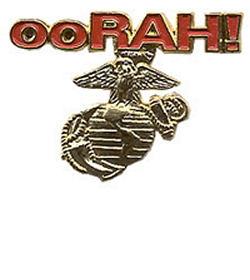 Marines Oorah Pin  US Marine Corps Pins  Oorah USMC Pin
