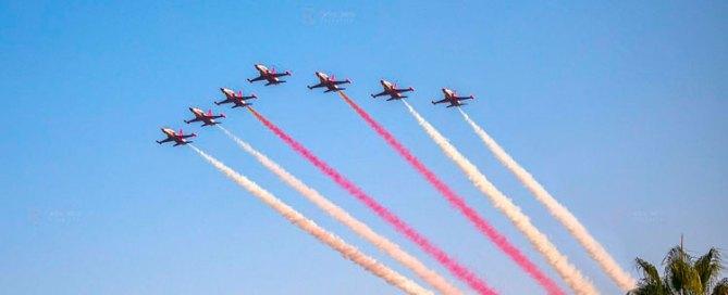 EXhibición aérea Torre del Mar 2020