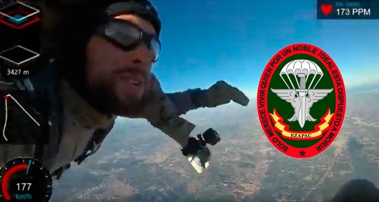 Salto paracaidista HALO/HAHO Ezapac. VetPac