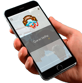 App movil Vetpac pantalla inicial