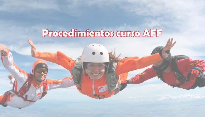 Procedimientos curso básico AFF