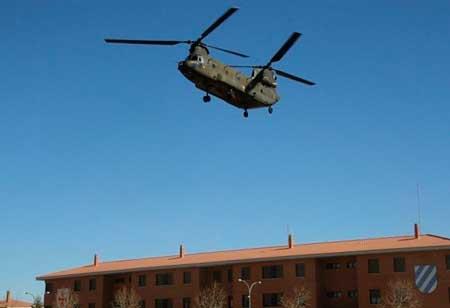 "Boeing CH-47D ""Chinook en la Bripac"
